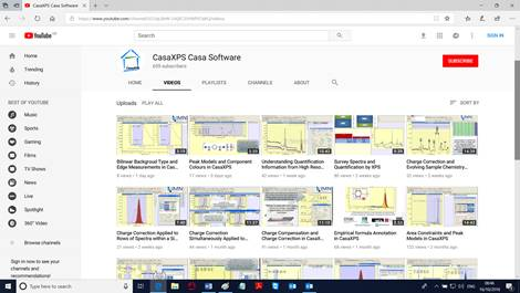 Download the latest version of CasaXPS
